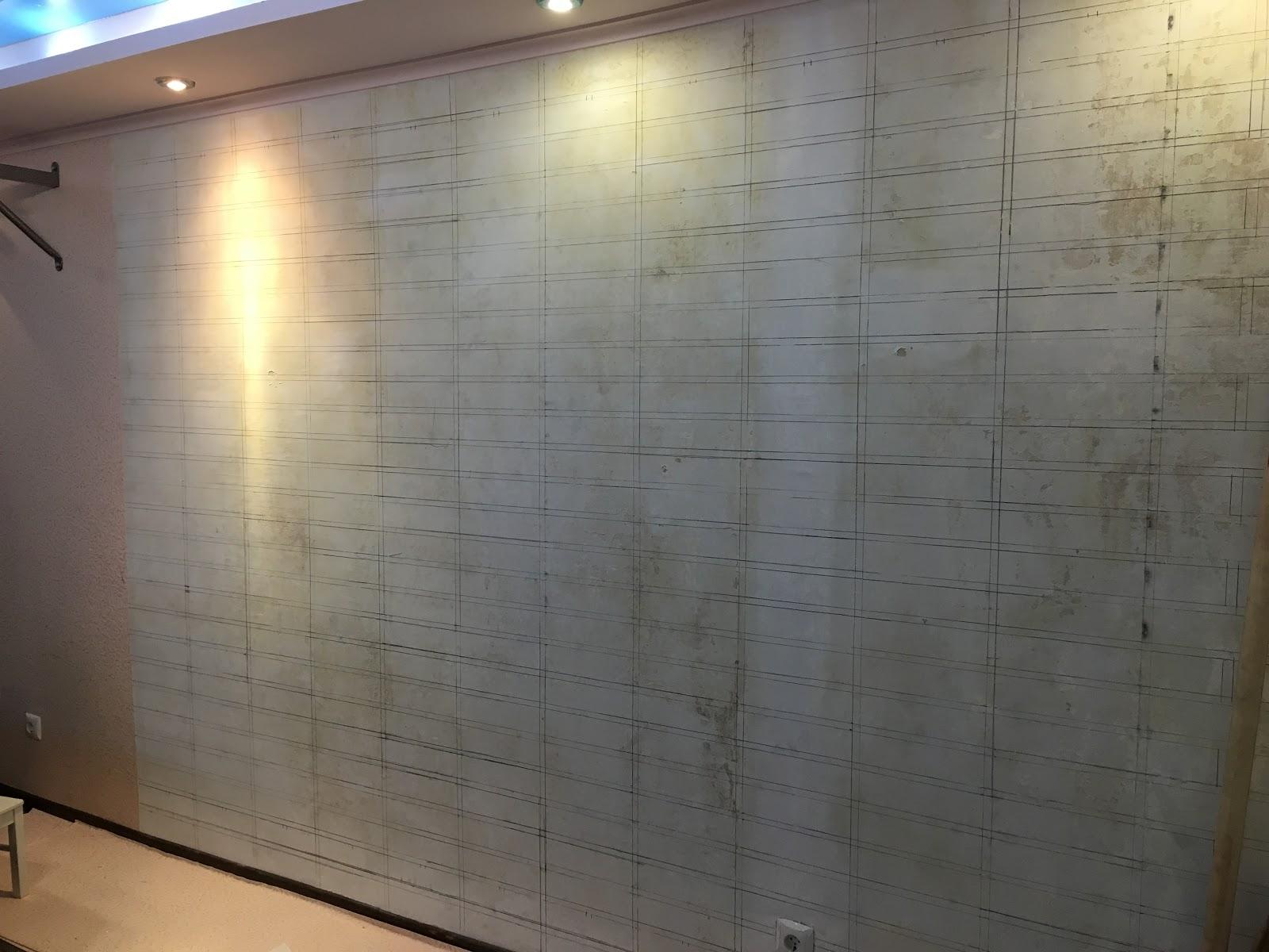 Инвесторский ремонт: декоративная стена своими руками